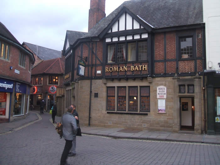 A Guide To Roman Bath Museum And Pub York